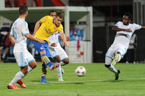 Arsenal score: Olympique Marseille v Arsenal