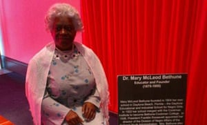 Dr Mary McLeod Bethune waxwork at The National Blacks in Wax Museum, Baltimore