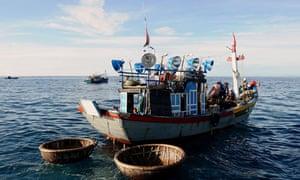 Vietnam fishing boat