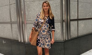 Mending in vogue: Floral dress