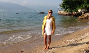 Mending in vogue: Beach dress