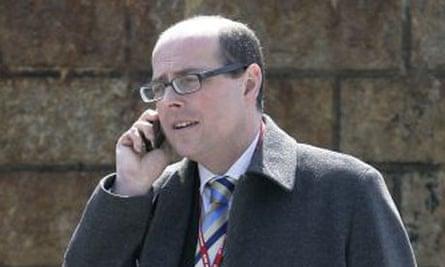 BBC reporter Nick Robinson
