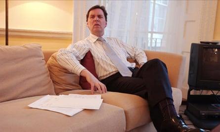 Former health secretary Alan Milburn