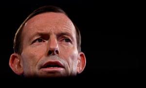 Tony Abbott at the press club