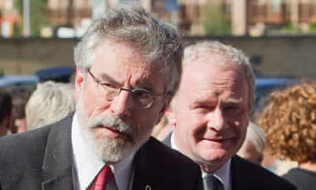 Seamus Heaney funeral: Gerry Adams