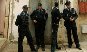 Police in Morocco