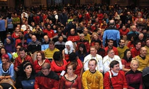 Star Trek cosplayers at the 11th Annual Official Star Trek Convention in 2012