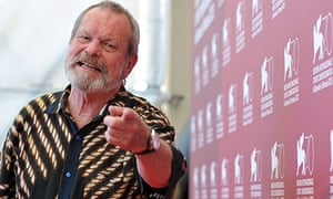 US director Terry Gilliam poses during t