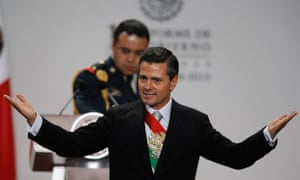 President Enrique Pena Nieto gives his first state-of-the-nation speech in Mexico City