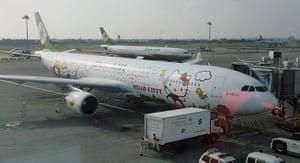 Hello Kitty plane: The Hello kitty aircraft