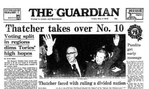 Front page 4 May 1979