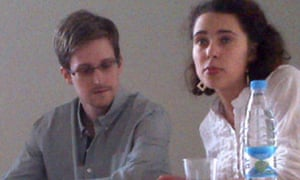 Edward Snowden in Moscow