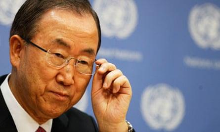 MDG: UN secretary general Ban Ki-moon