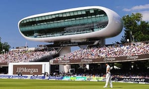 Stirling prize 1999 winner Lord's cricket ground media centre, London
