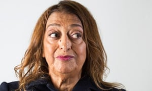 Zaha Hadid: 'The world is not a rectangle.'