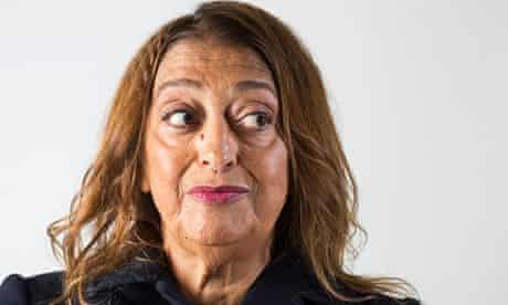 Zaha Hadid: 'The world is not a rectangle.'