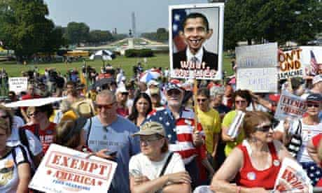 Tea Party rally to defund Obamacare
