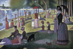 Colour in the making: Georges Seurat