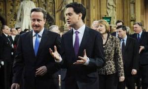 Ed Miliband David Cameron