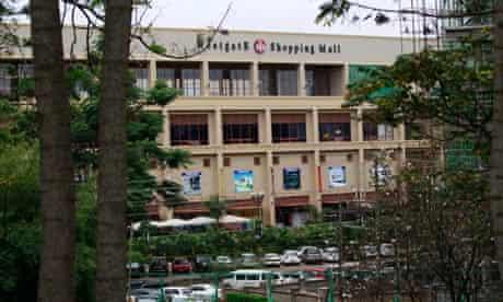 Westgate mall in Nairobi