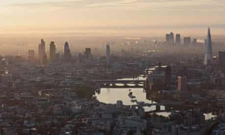 Aerial Views of London, Britain - 13 Jun 2012
