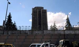 Russian embassy Damascus