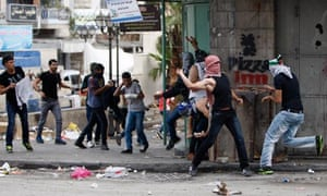 Israeli troops clash with protesters in Hebron, West Bank