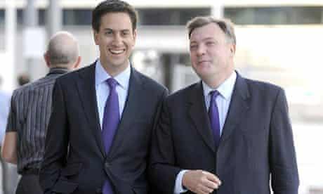 Ed Miliband and Ed Balls.