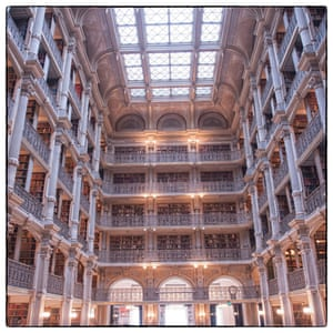 George Peabody Library, Baltimore.