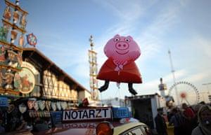 oktoberfest: A pig balloon