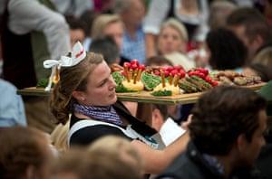 oktoberfest: Bavarian food