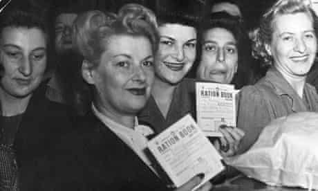 Strict rationing was introduced in Britain during the second world war