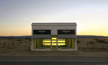 The Prada Marfa, near Valentine, Texas.