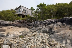 Homes - On The Rocks: house sitting on top of rocky surface