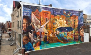 The Philadelphia Mural Arts Program has initiated the city's huge street art project, a celebration of the whole community.