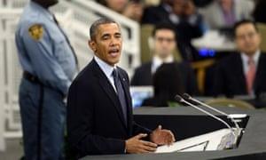 Obama at the UN.