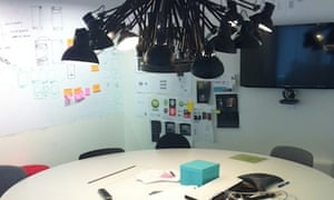 Collaborative workspace at Spotify