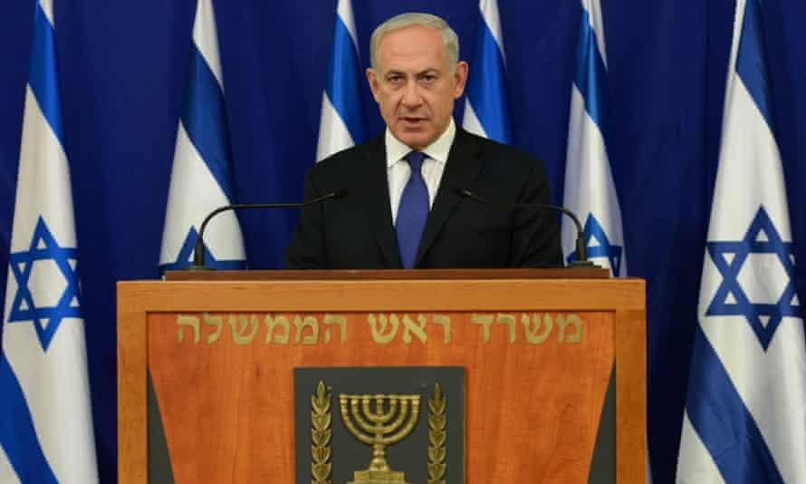 Benjamin Netanyahu: defended walkout.
