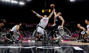 Paralympics wheelchair basketball