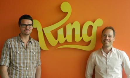 King's Thomas Hartwig and Sebastian Knutsson