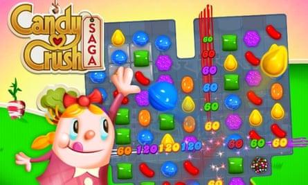Game app Candy Crush Saga
