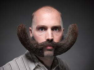 Beard championships: A freestyle moustache