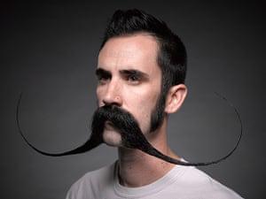 Beard championships: An English moustache