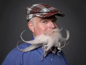 Beard championships: Freestyle Full Beard