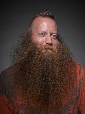 Beard championships: Full natural beard