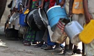 MDG : Aid in Somalia