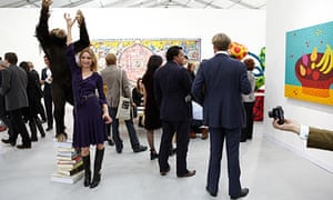 First Use - Observer Review Punters, artists and art dealers converge at the Frieze art fair in Rege