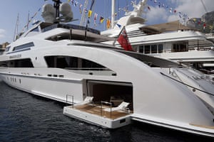 Yachts: Galactica Star, the luxurious superyacht moored in Monaco
