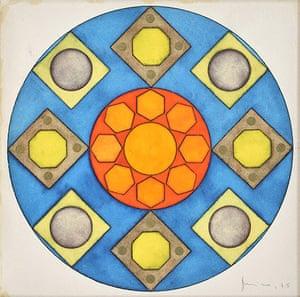 Mira Schendel: Mandala 1974