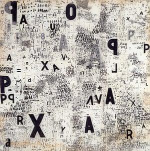 Mira Schendel: Graphic Object 1967